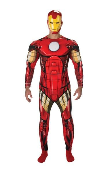 Iron Man Adult Deluxe Costume