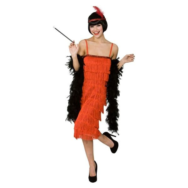 Jazzy Flapper - Red