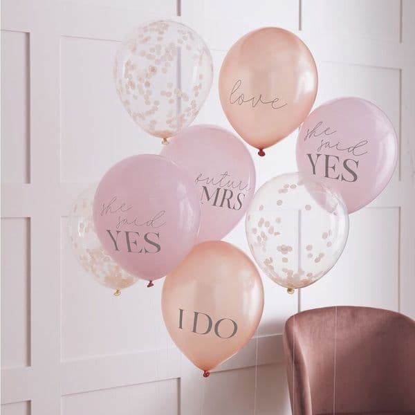 Mixed Pack Hen Party Balloons
