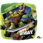 Mutant Ninja Turtles Happy Birthday Balloon