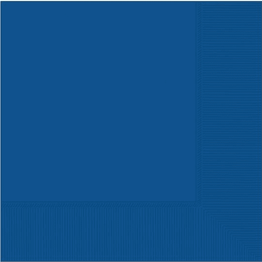 Napkins 20pk Bright Royal Blue