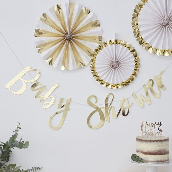 Oh Baby! Baby Shower Bunting