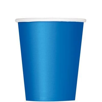 Paper Cups 270ml -Royal Blue