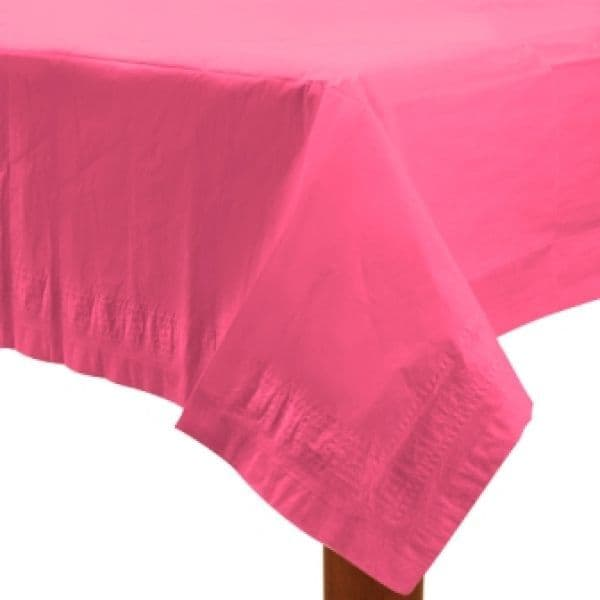 Paper Tablecover Bright Pink