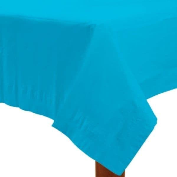 Paper Tablecover Caribbean Blue