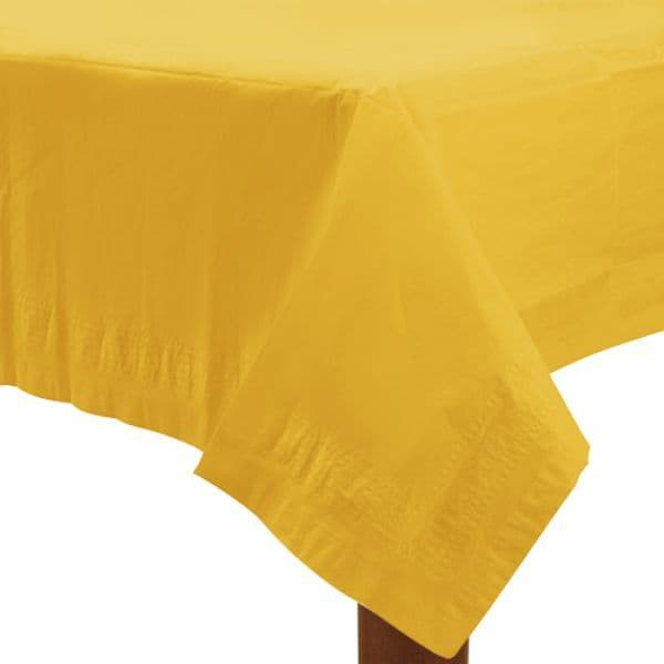 Paper Tablecover Sunshine Yellow