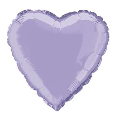 Personalised Lavender Heart Balloon