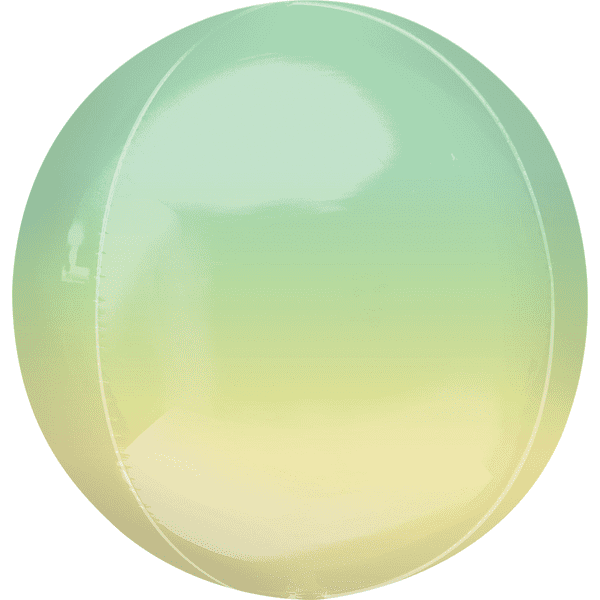 Personalised Ombre Yellow & Green Orbz