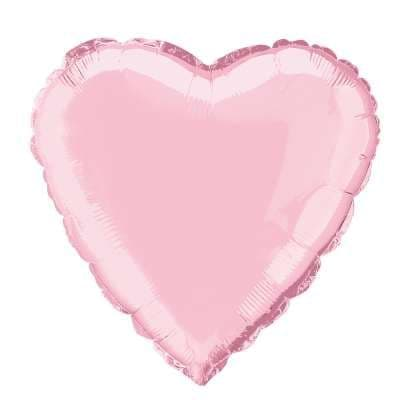 Personalised Pale Pink Heart Balloon