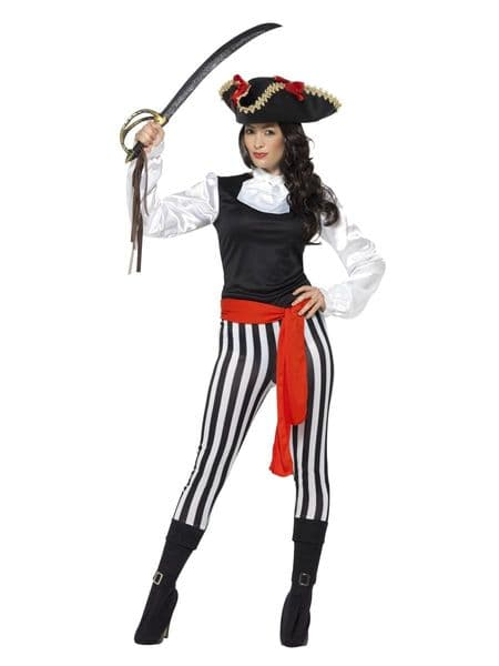 Pirate Lady Costume with Top
