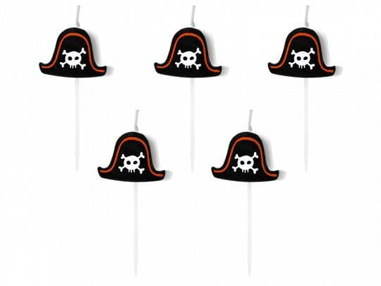 Pirates Party Candles