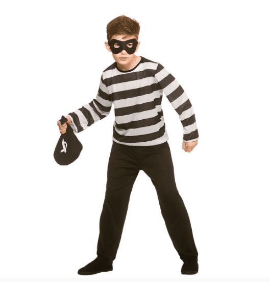 Sneaky Robber Costume