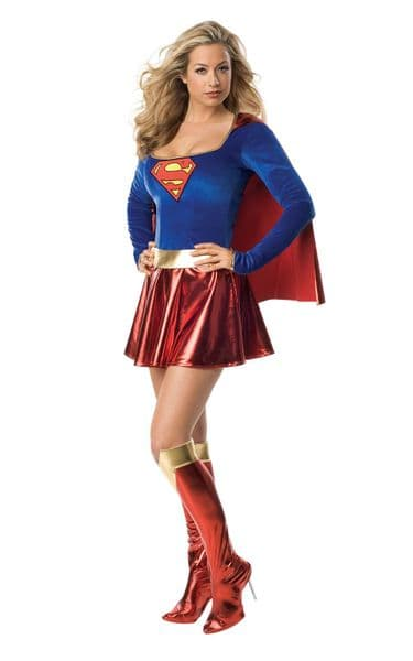 Supergirl (Adult) One Piece Costume