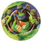 Teenage Mutant Ninja Turtles - Paper Plates 18cm
