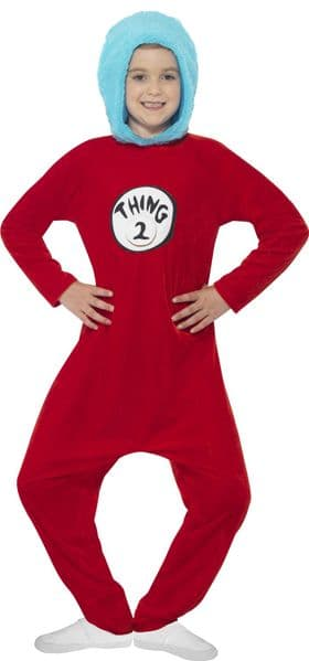 Thing 1 or 2 Dr Seuss Costume