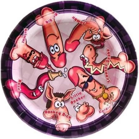 Willy Paper Plates 9